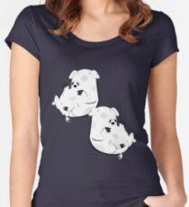 Piggies Women's Fitted Scoop T-Shirt
