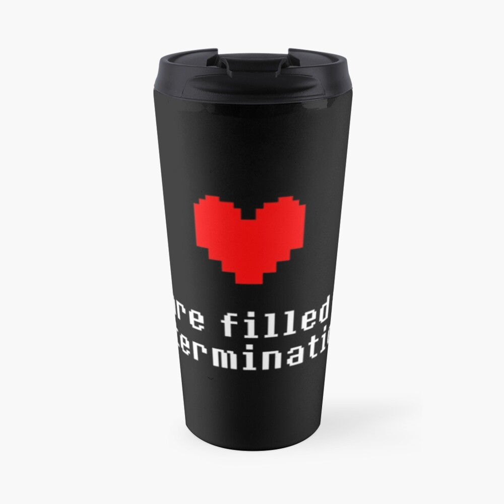 Seeing this image... - Undertale Travel Mug