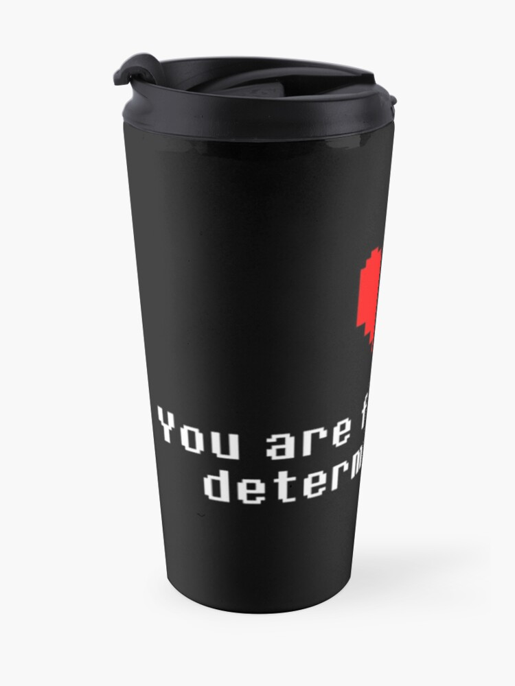 Alternate view of Seeing this image... - Undertale Travel Mug