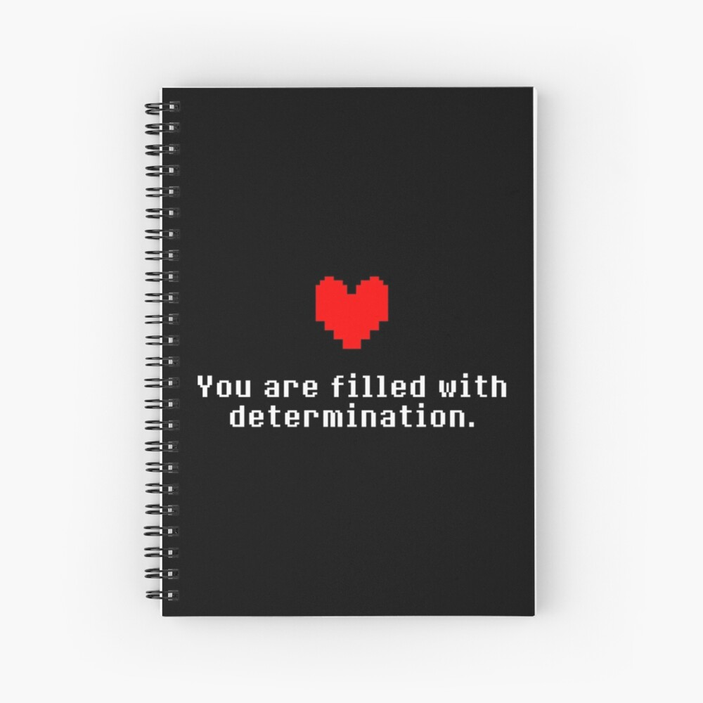 Seeing this image... - Undertale Spiral Notebook