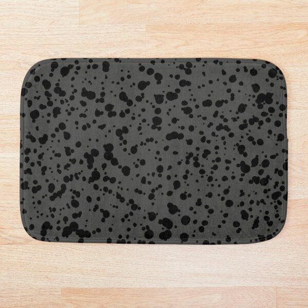 Curiti (Gray/Black) Bath Mat