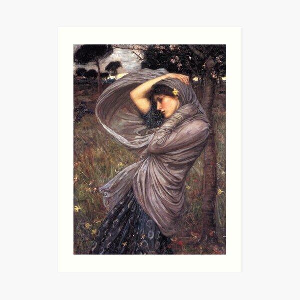 """Boreas"" by John William Waterhouse 1903 Art Print"