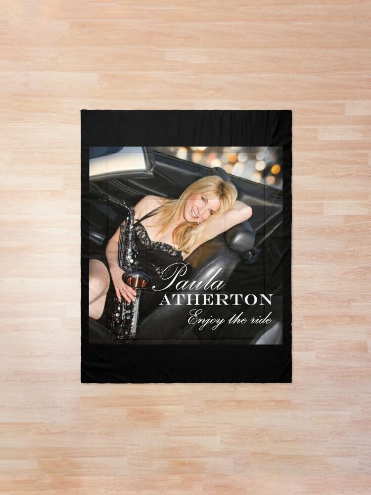 Alternate view of Paula Atherton's Enjoy The Ride! Comforter
