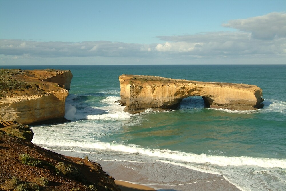 Joe Mortelliti Gallery - London Bridge arch, Twelve Apostles, Great Ocean Road, Victoria, Australia. by thisisaustralia