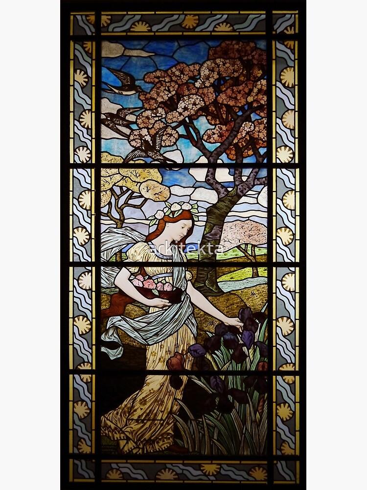 Art Nouveau Spring by Eugène Grasset by arkitekta