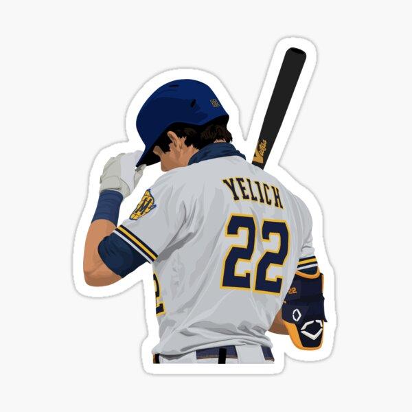 Christian Yelich 22 Sticker