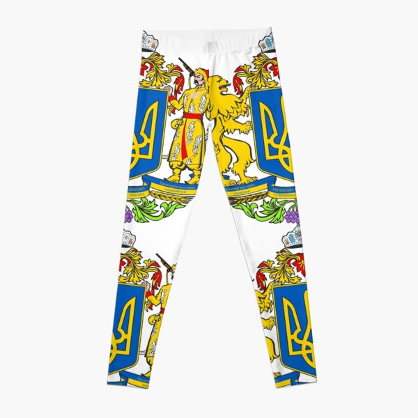 Ukraine is a large country in Eastern Europe Leggings
