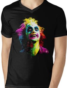Beetlejuice Mens V-Neck T-Shirt