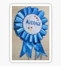 Average Sticker