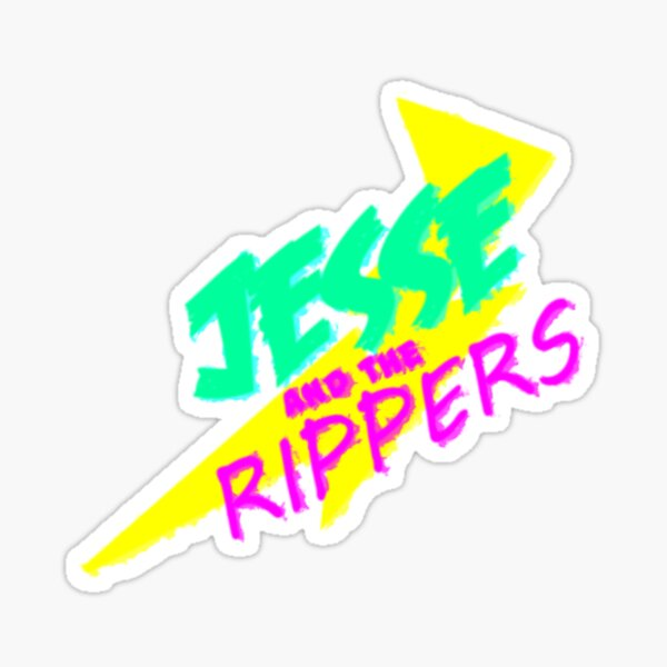 Jesse and the Rippers Sticker
