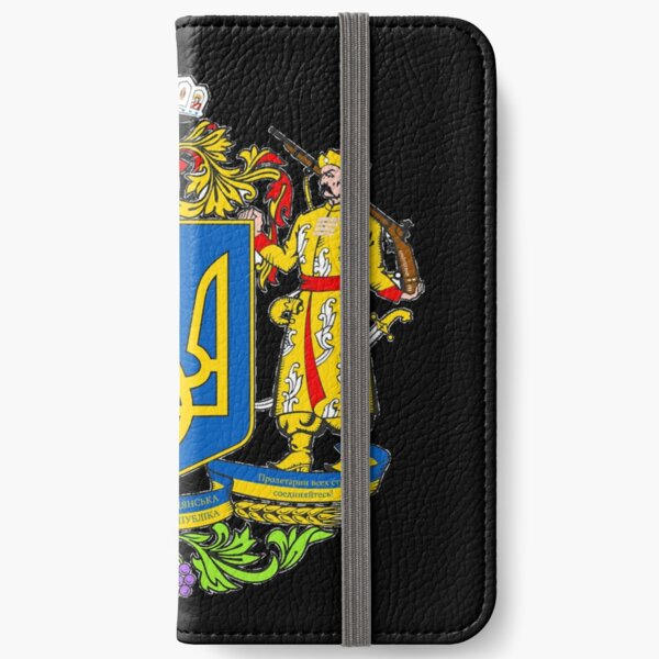Ukraine is a large country in Eastern Europe iPhone Wallet