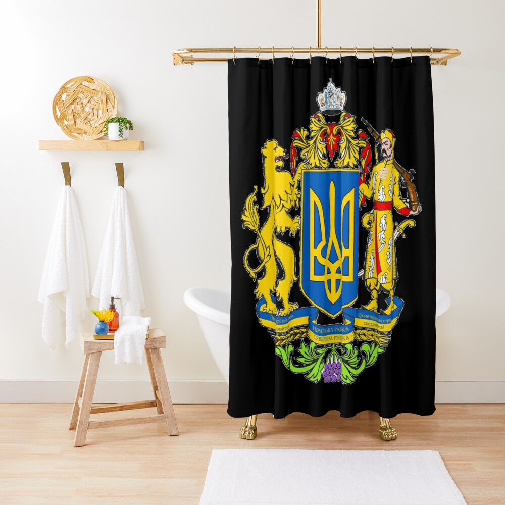 Ukraine is a large country in Eastern Europe Shower Curtain