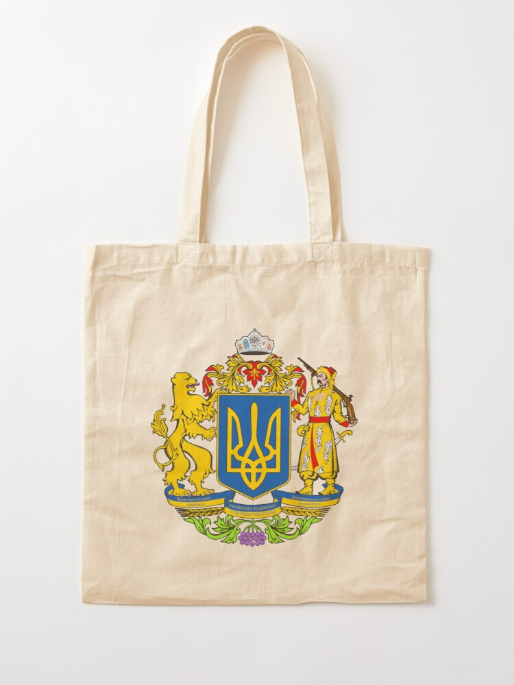 Alternate view of Ukraine is a large country in Eastern Europe Tote Bag