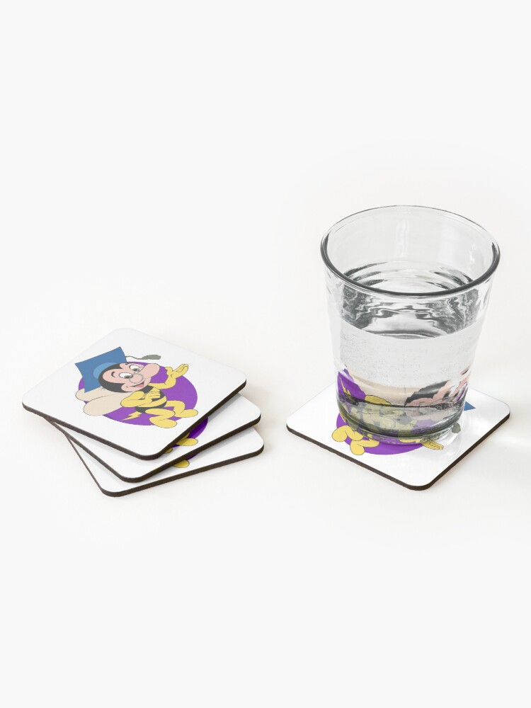 Alternate view of Professor BEEtoven Coasters (Set of 4)