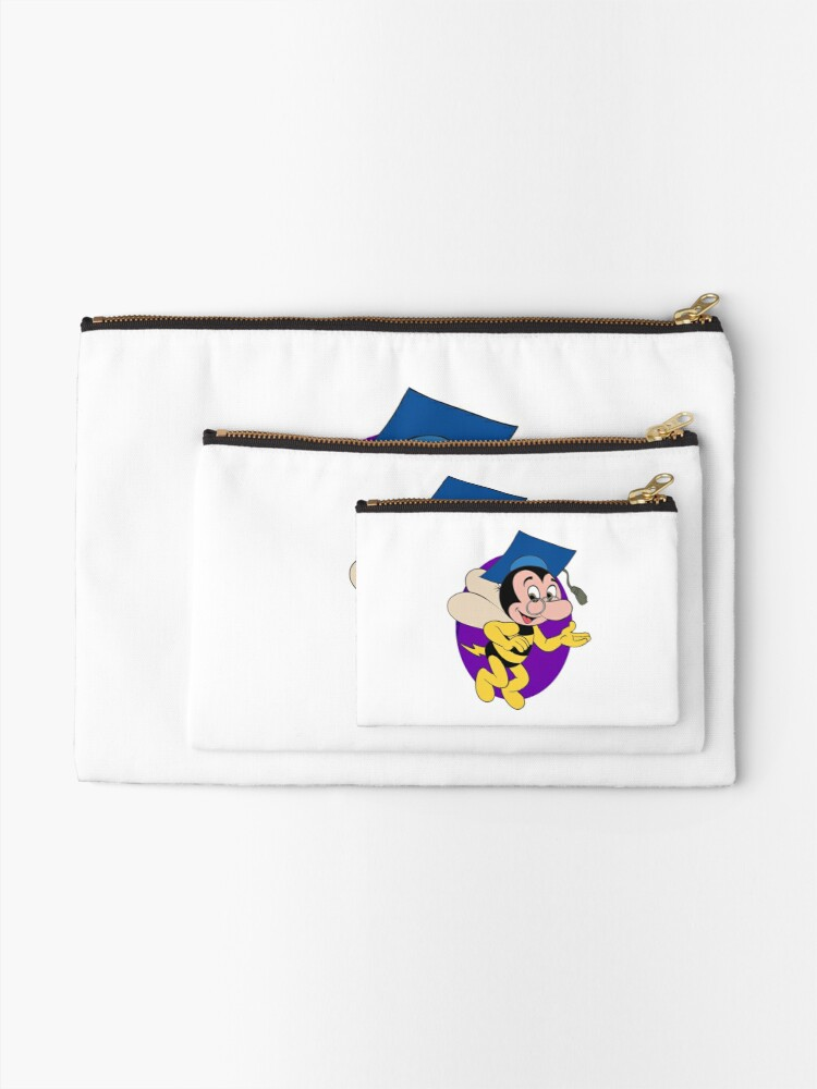 Alternate view of Professor BEEtoven Zipper Pouch