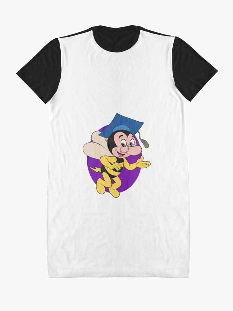 Alternate view of Professor BEEtoven Graphic T-Shirt Dress