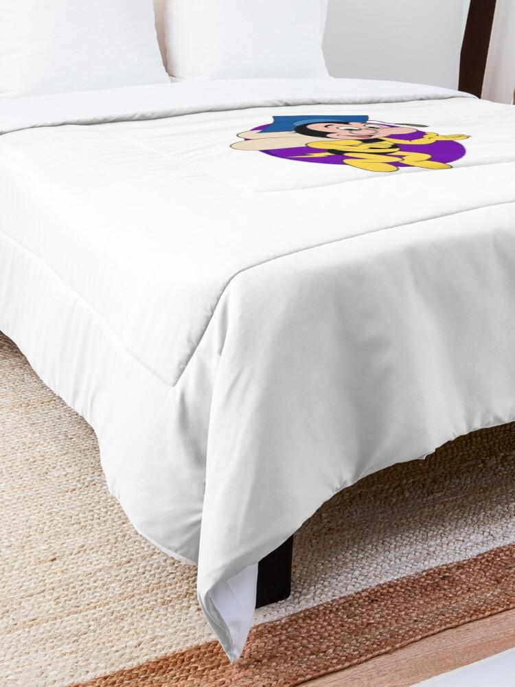 Alternate view of Professor BEEtoven Comforter
