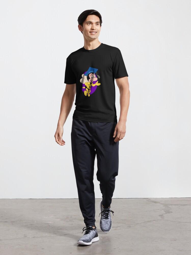 Alternate view of Professor BEEtoven Active T-Shirt