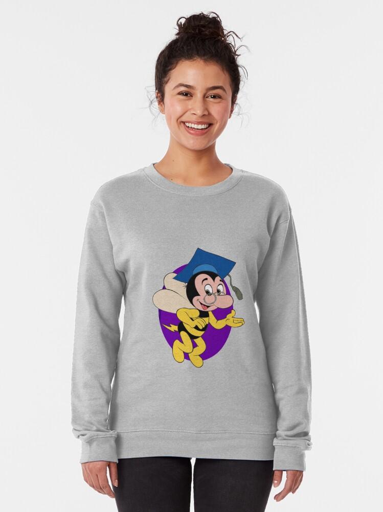 Alternate view of Professor BEEtoven Pullover Sweatshirt