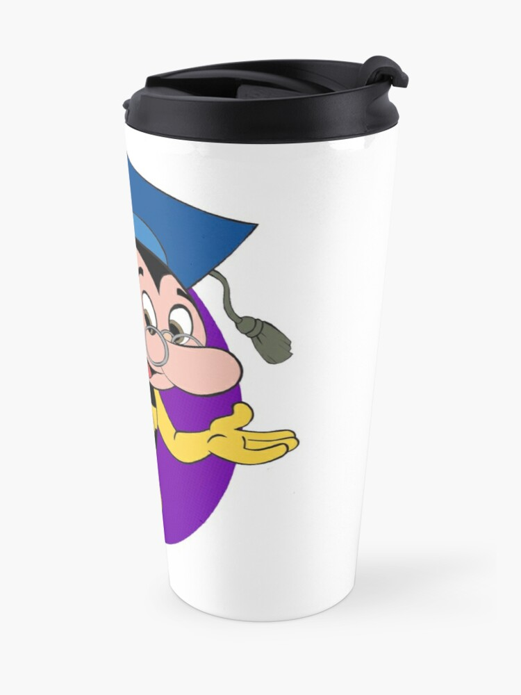 Alternate view of Professor BEEtoven Travel Mug
