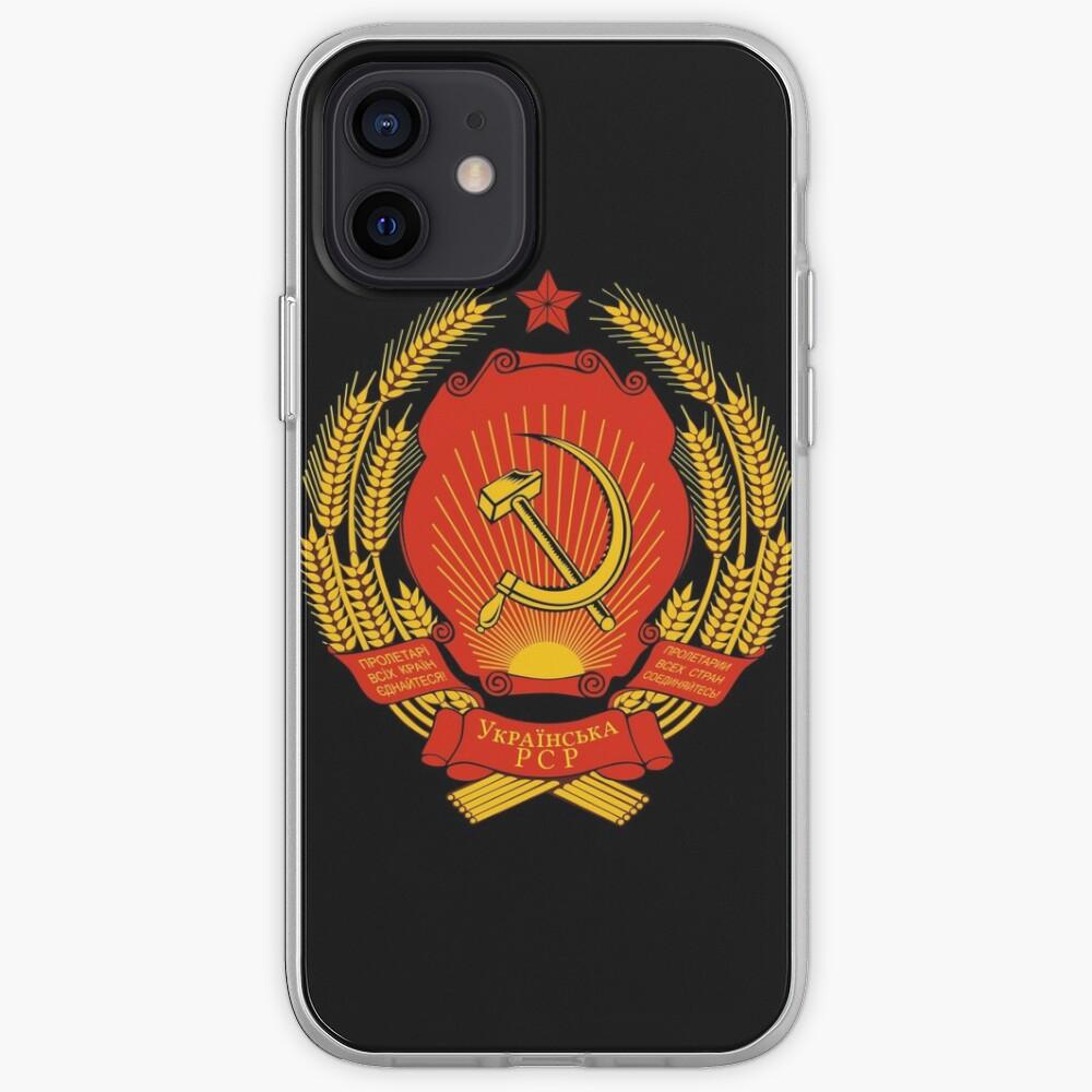 Ukrainian SSR Emblem iPhone Case