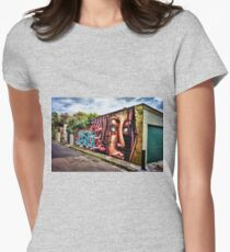 Streets of Newtown Women's Fitted T-Shirt