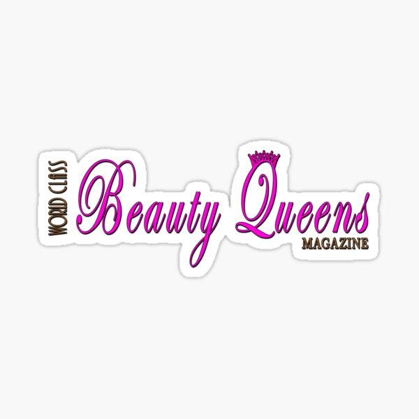 World Class Beauty Queens Magazine, Logo Sticker