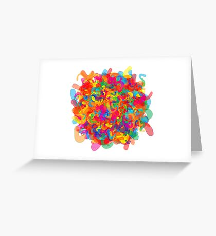 Psycho-Colours Greeting Card
