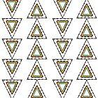 Rad Retro Triangles   by Hannah Rothstein