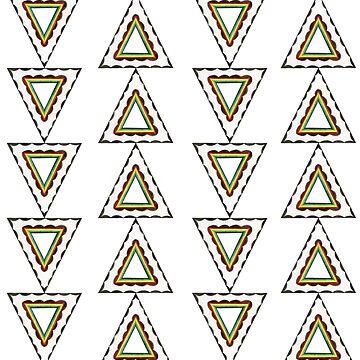 Rad Retro Triangles   by HRothstein