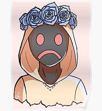 Flower crown Hoodie Poster