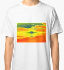 Psychedelic Sunset Classic T-Shirt