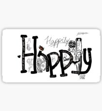 Happily Sticker