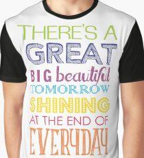 Carousel Of Progress Graphic T-Shirt
