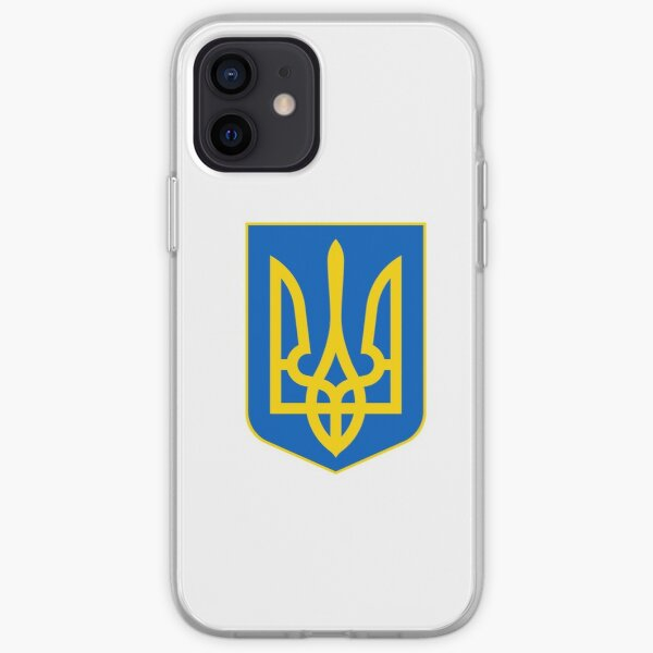 The state coat of arms of Ukraine, officially referred to as the Sign of the Princely State of Vladimir the Great or commonly the Tryzub iPhone Soft Case