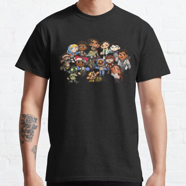 Apex Legends as Animal Crossing Characters Classic T-Shirt