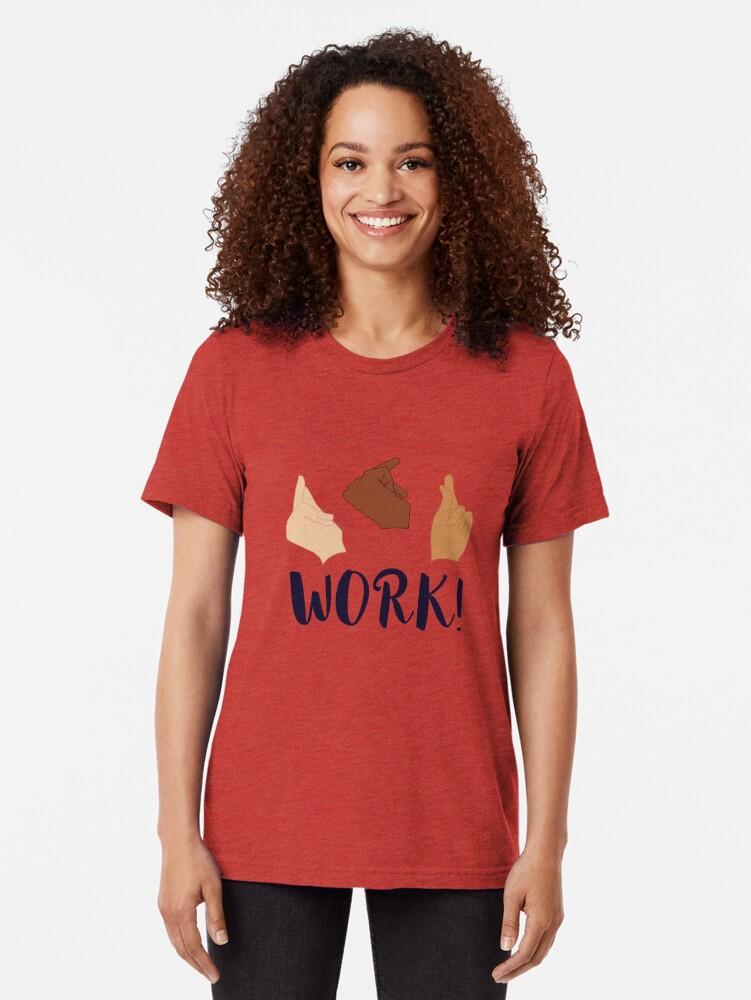 Alternative Ansicht von ARBEIT! (Schuyler Schwestern) Vintage T-Shirt