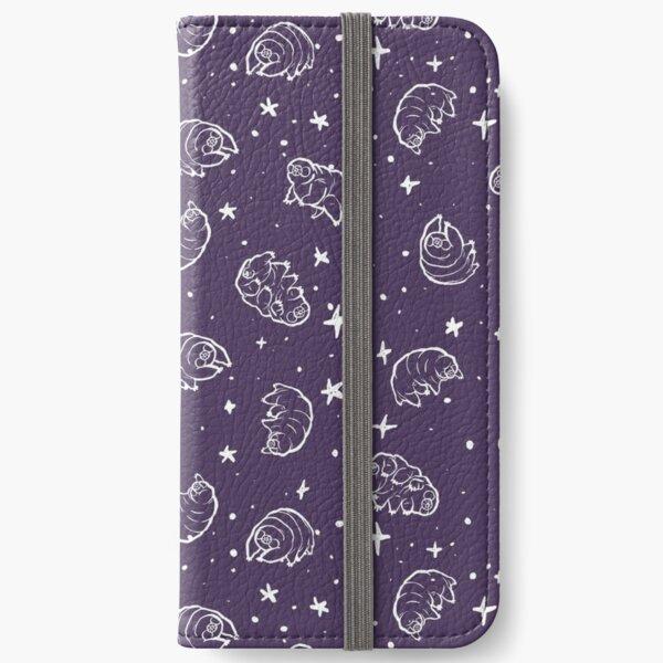 Tardigrades in Space (purple) iPhone Wallet