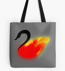 Once Upon a Swanfire Tote Bag