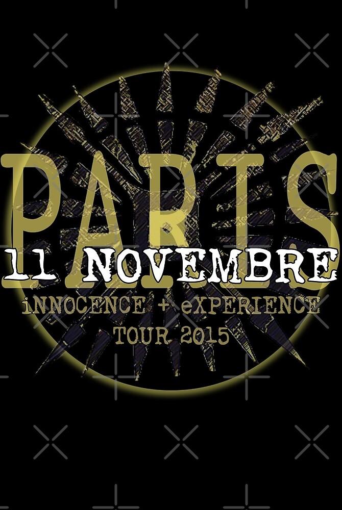 u2 ietour Paris  november 11th 2015 by clad63