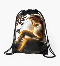 A Time to Think Drawstring Bag