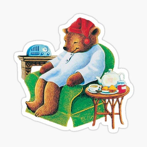 celestial seasoning sleepytime tea bear Sticker
