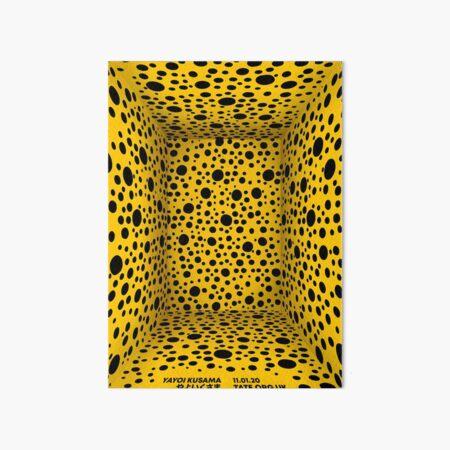 horizontal yellow Art Board Print