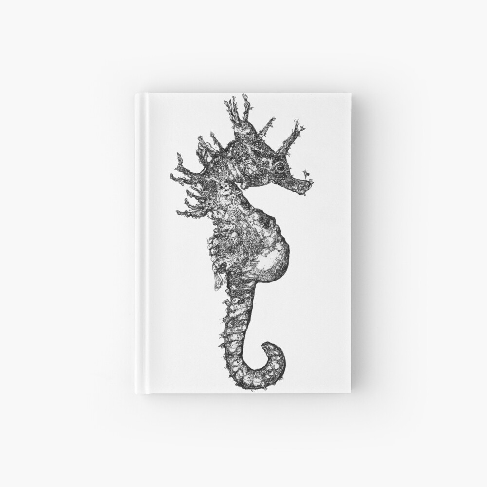 Dave the Seahorse  Hardcover Journal