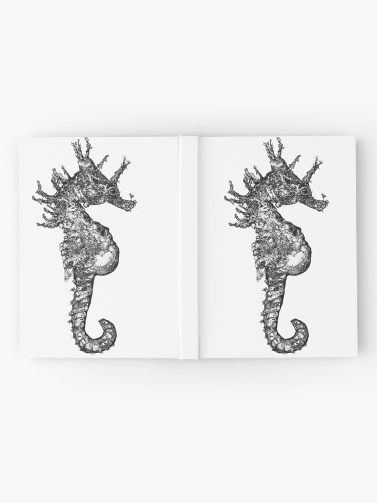 Alternate view of Dave the Seahorse  Hardcover Journal