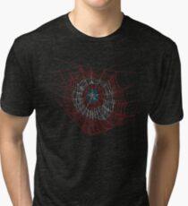 Camiseta de tejido mixto Spider America