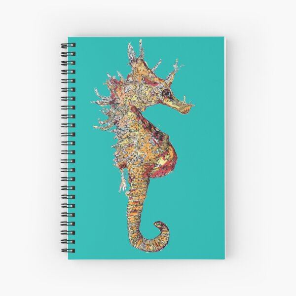 Di the Seahorse  Spiral Notebook