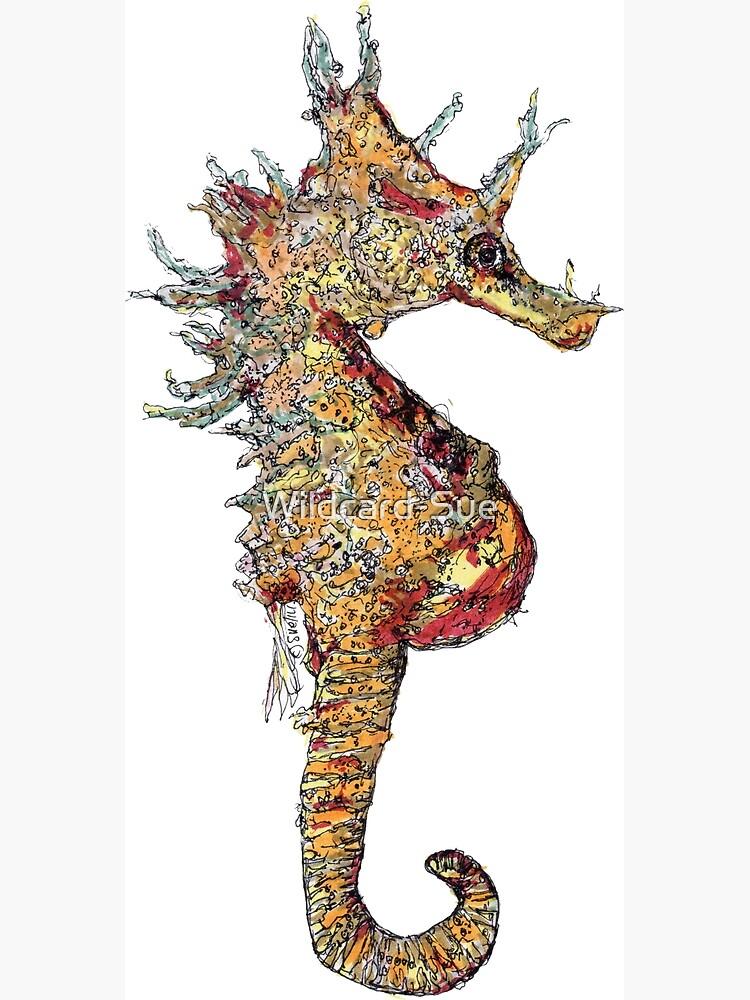 Di the Seahorse  by Wildcard-Sue