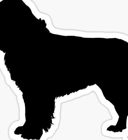 newfoundland dog silhouette | Inspiration for Jayda's room ...
