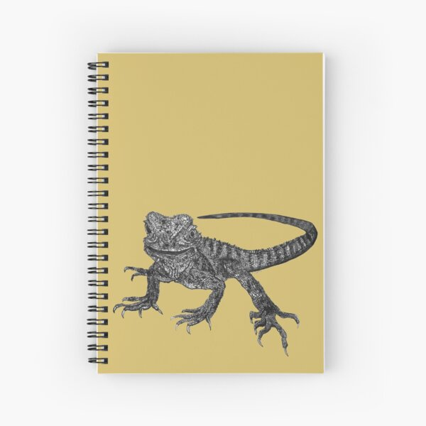 Kenneth the Water Dragon Spiral Notebook